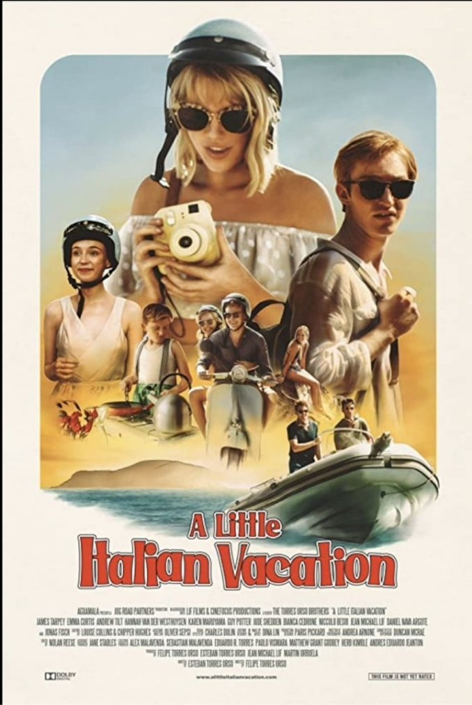 A Little Italian Vacation (2021) – Hollywood Movie