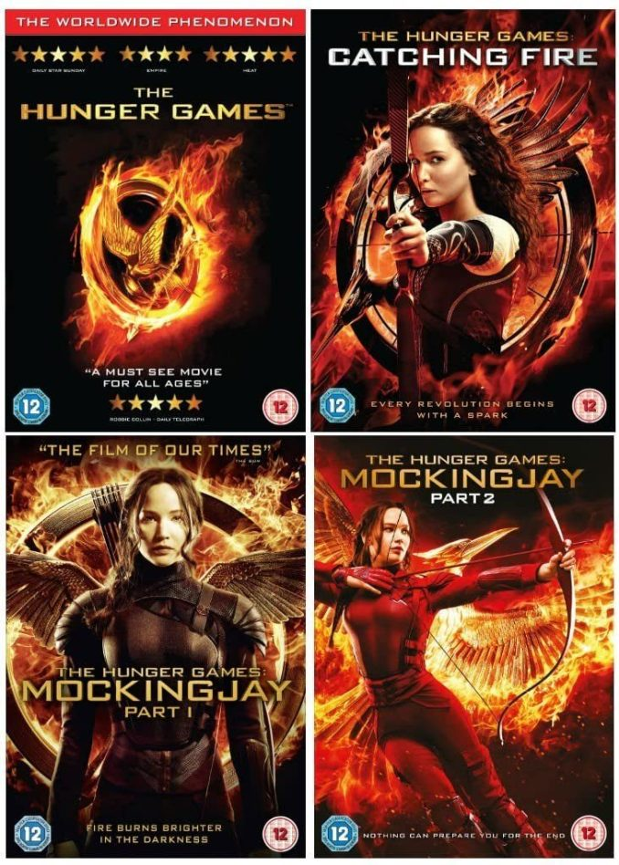 The Hunger Games 2012 – 2015 (Collection) – Hollywood