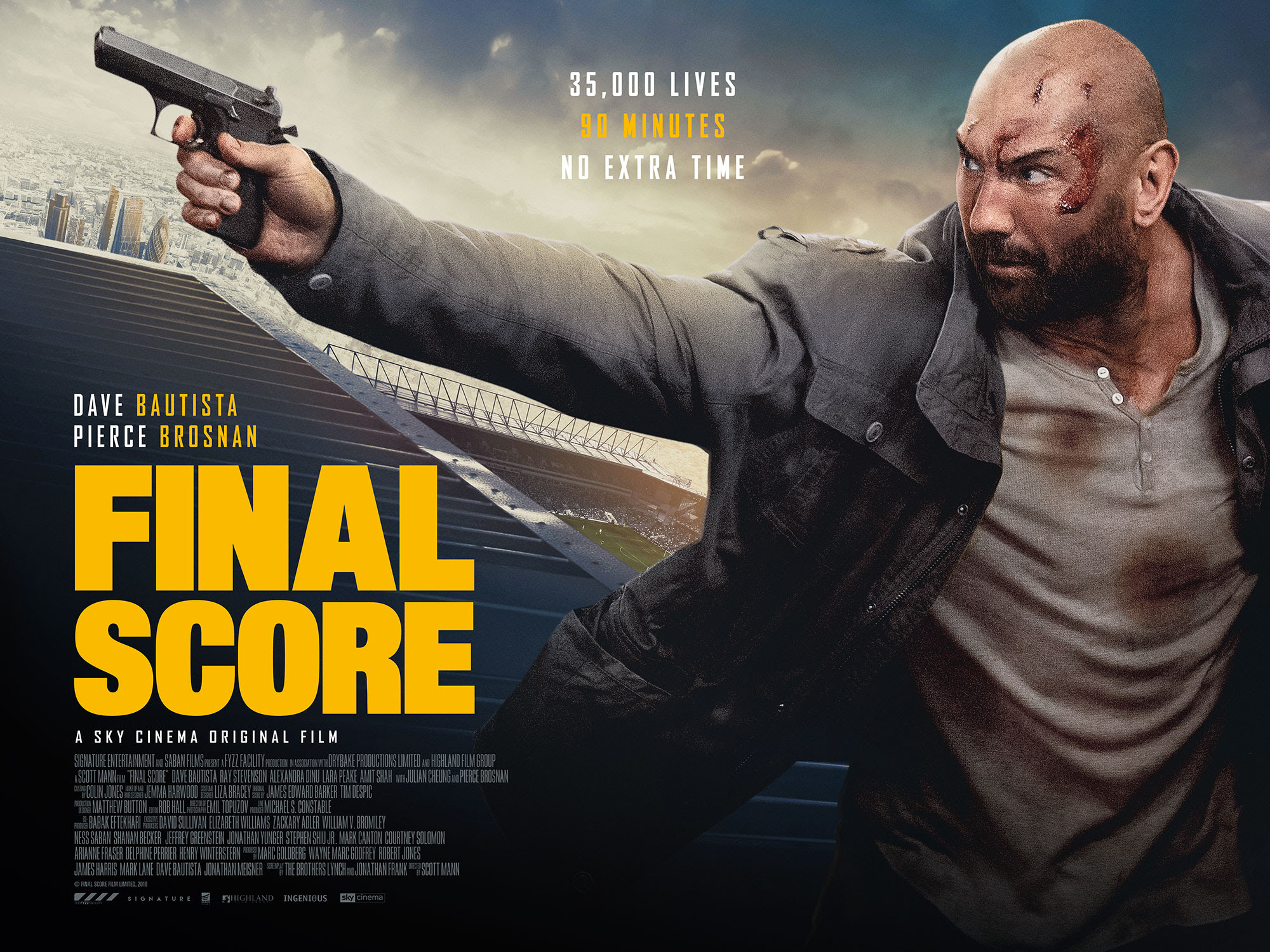 Final Score (2018) – Hollywood